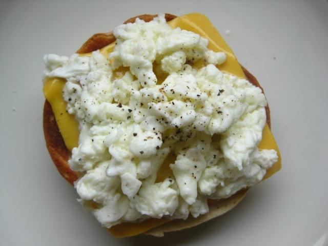 how to make soft scrambled egg whites